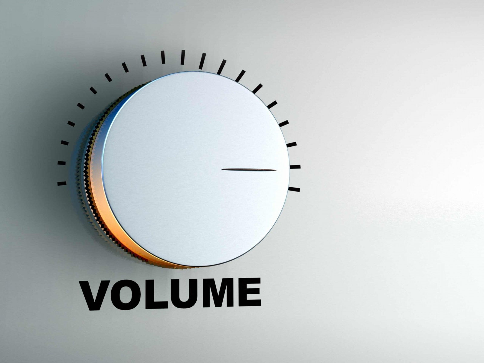 how to make the volume bar